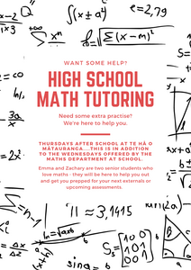 Highschool Maths Tutoring